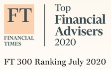 Awarded one of Financial Times top advisers for 2020